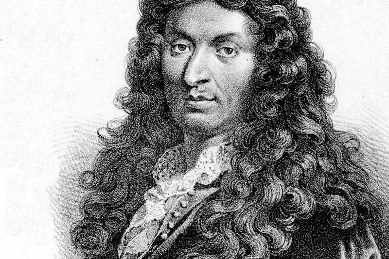 Jean Baptiste Lully, che ha musicato Le Bourgeios Gentilhomme