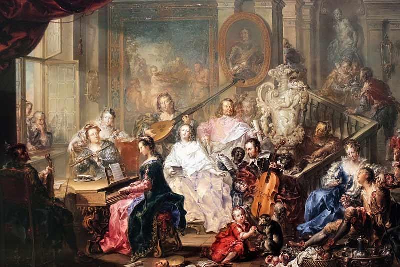 Johann Georg Platzer, Il concerto