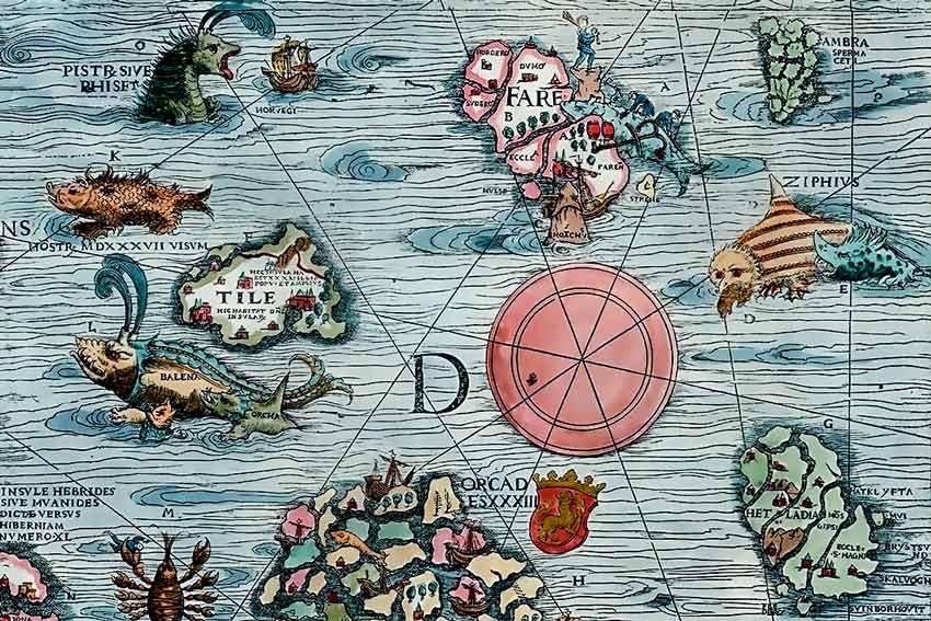 Carta marina di Olao Magno