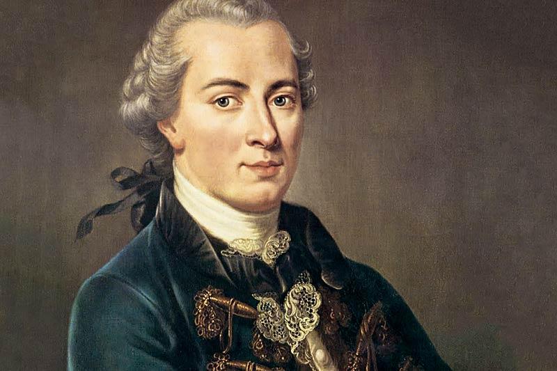 Ritratto di Immanuel Kant