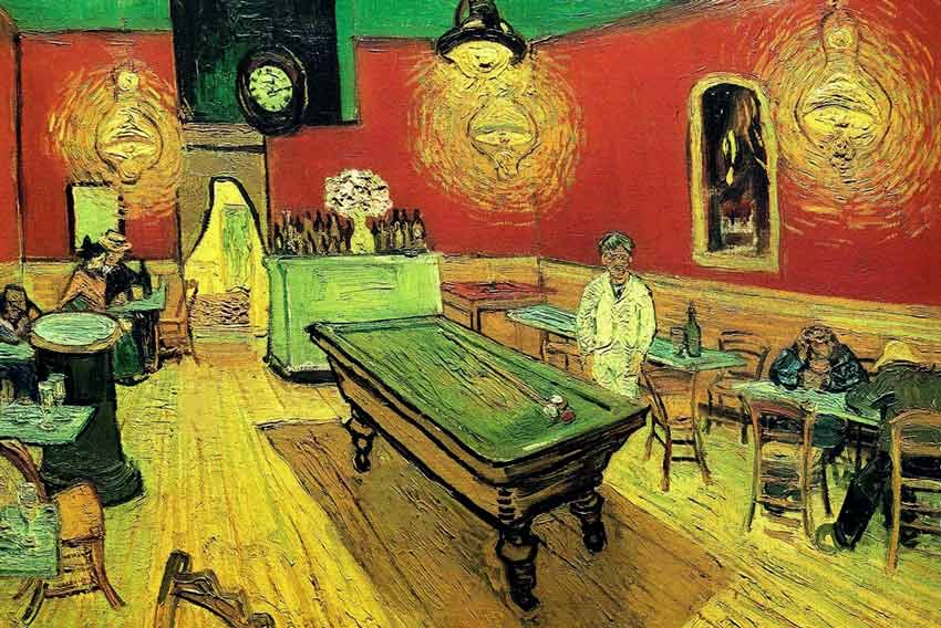 Van Gogh Il caffè di notte
