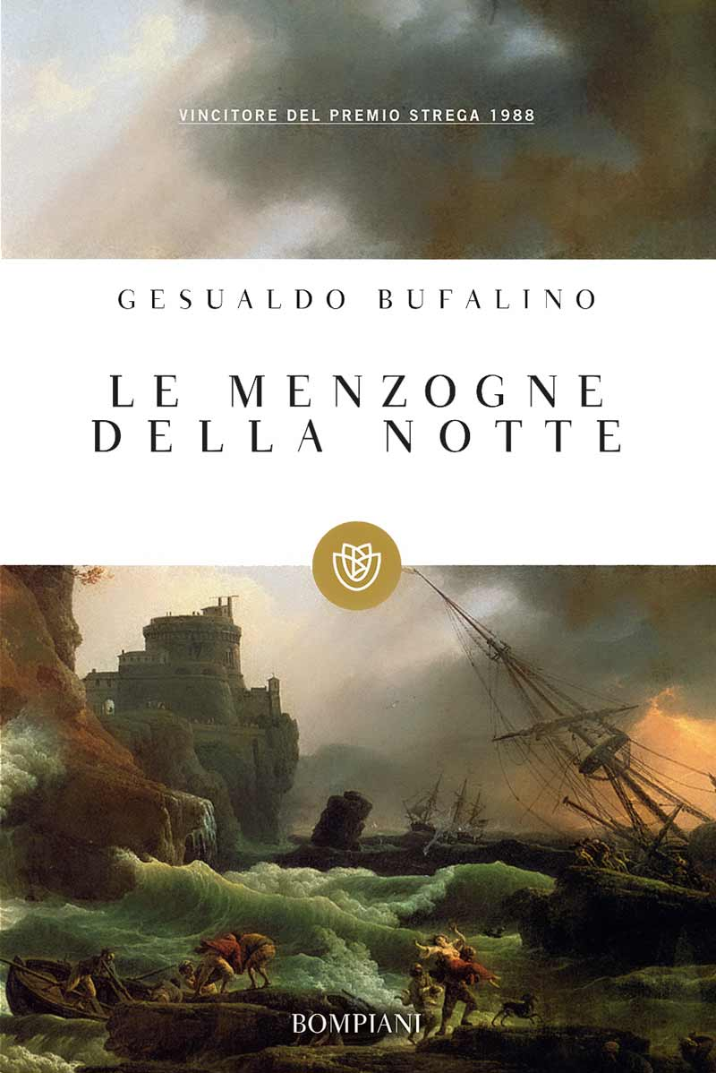 Gesualdo Bufalino, Le menzogne della notte, copertina