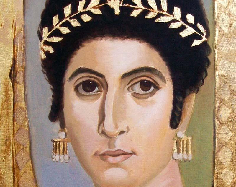 Il tardo-antico: Ritratto el fayum