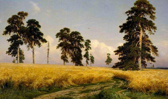 Ivan Shishkin, I campi di grano, 1878