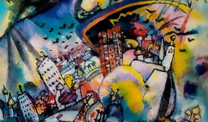 Kandinsky Mosca 1916