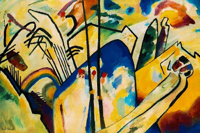 Vassilij Kandinsky, Composizione VI, 1913