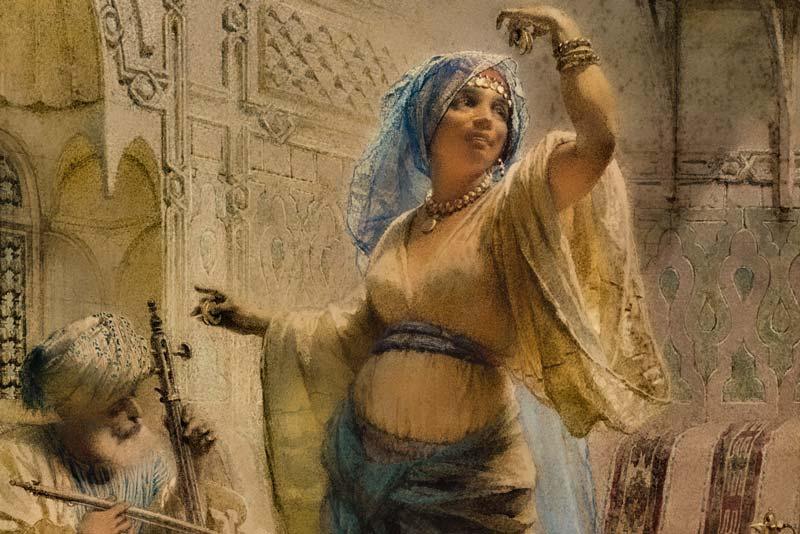 Carl Haag La danza dell'Almeh, 1870