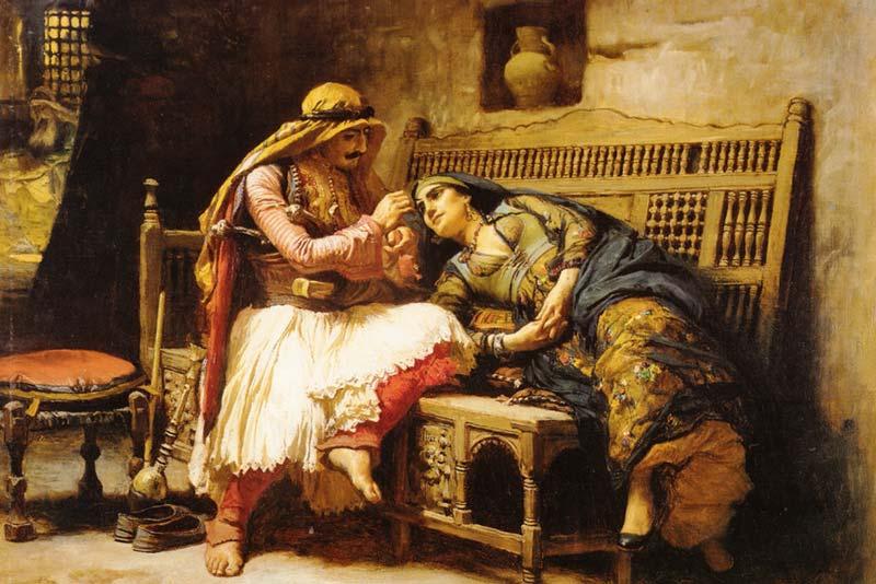 Frederick Arthur Brigdman, La regina dei briganti, 1882