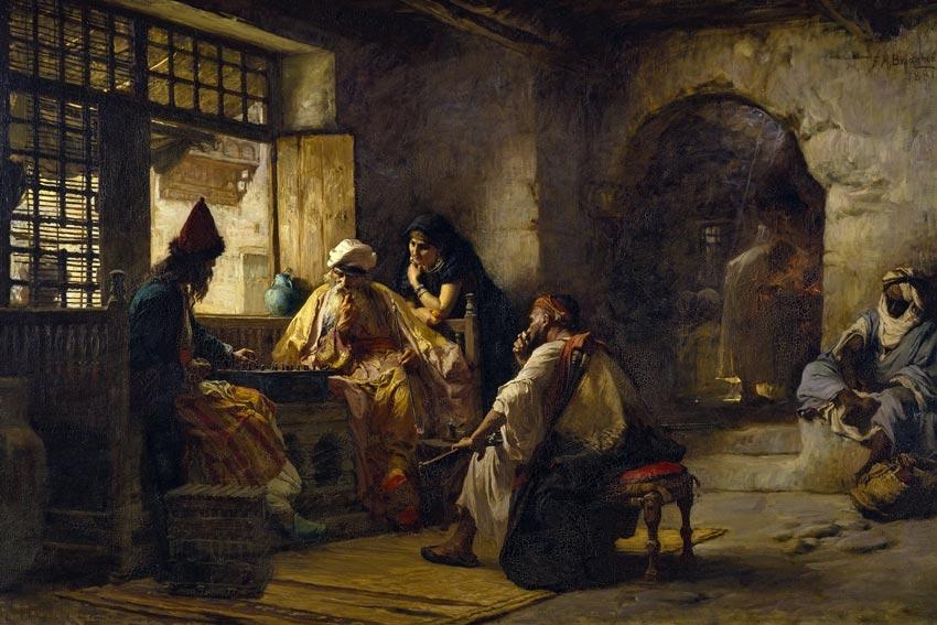 Frederick Arthur Brigdman, un gioco interessante, 1881