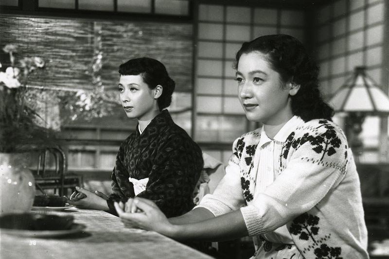 Kuniko Miyake e Setsuko Hara in Il tempo del raccolto del grano (Inizio Estate, 1951)