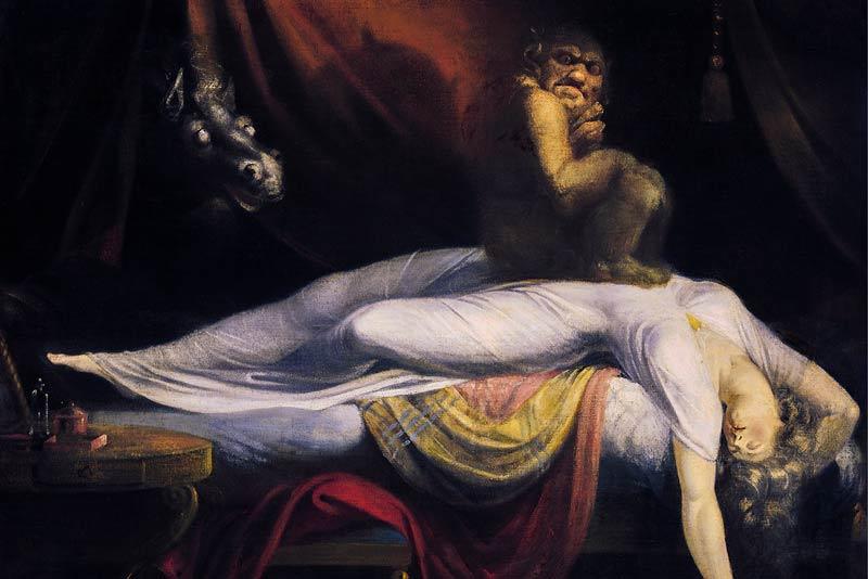 JohnHenry Fuseli The Nightmare