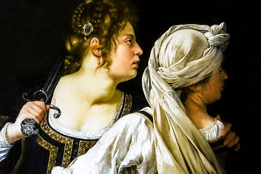 Artemisia Gentileschi, Giuditta e la fantesca