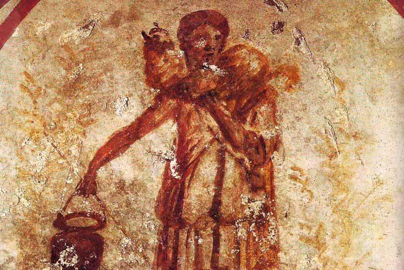 Catacomba di Callisto, Cripta del Buon Pastore