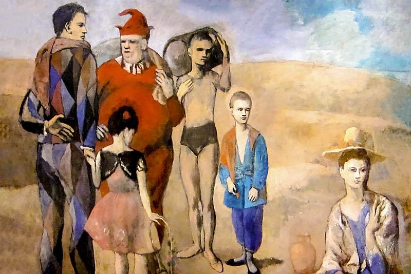 Pablo Picasso, Famiglia di saltimbanchi, 1905