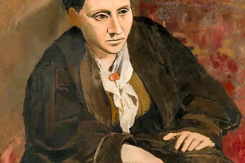 Pablo Picasso, Ritratto di Gertrude Stein, 1906