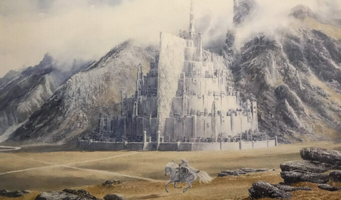 Tolkien Gandalf Rides To Minas Tirith Alan Lee