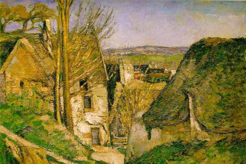 Paul Cézanne, La casa dell'impiccato, 1873