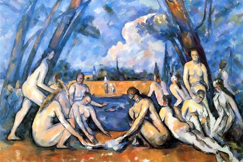 Paul Cezanne, Le grandi Bagnanti, 1905