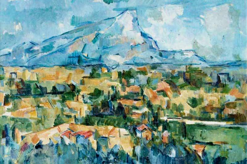Paul Cézanne, la montagna Saincte-Victoire, 1904-1906