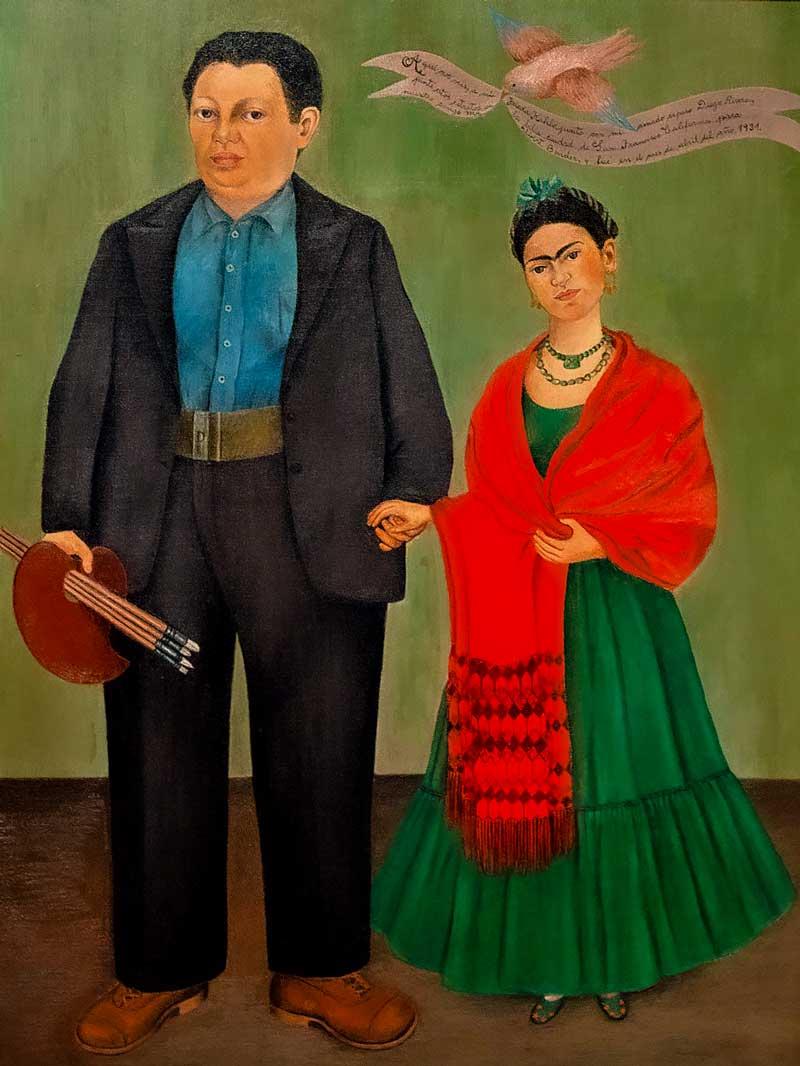Frida Kahlo, Frida e Diego, 1931