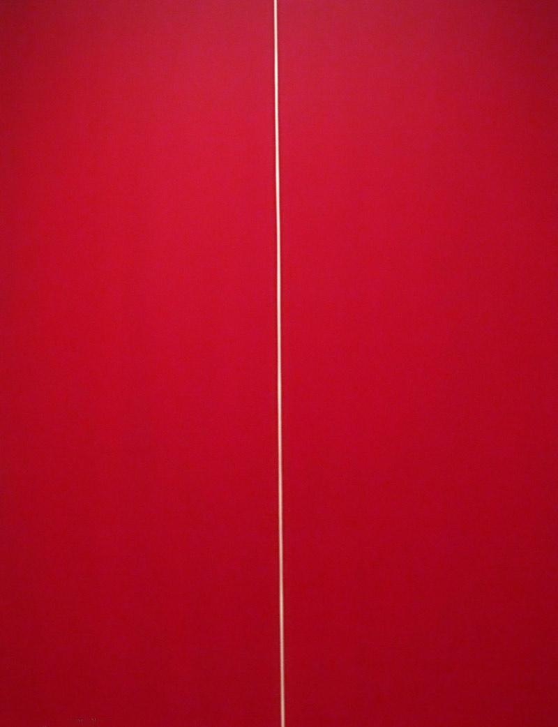 Espressionismo Astratto Barnett Newman, Essere-I, 1970