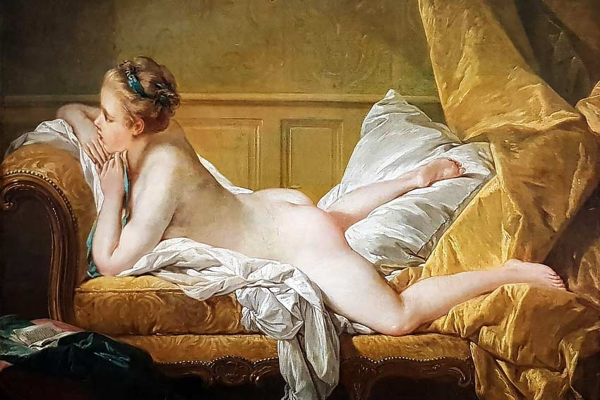 Francois Boucher, ragazza distesa