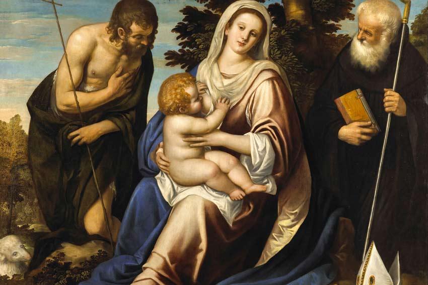 Madonna con il Bambino tra i Santi Giovanni Battista e Benedetto