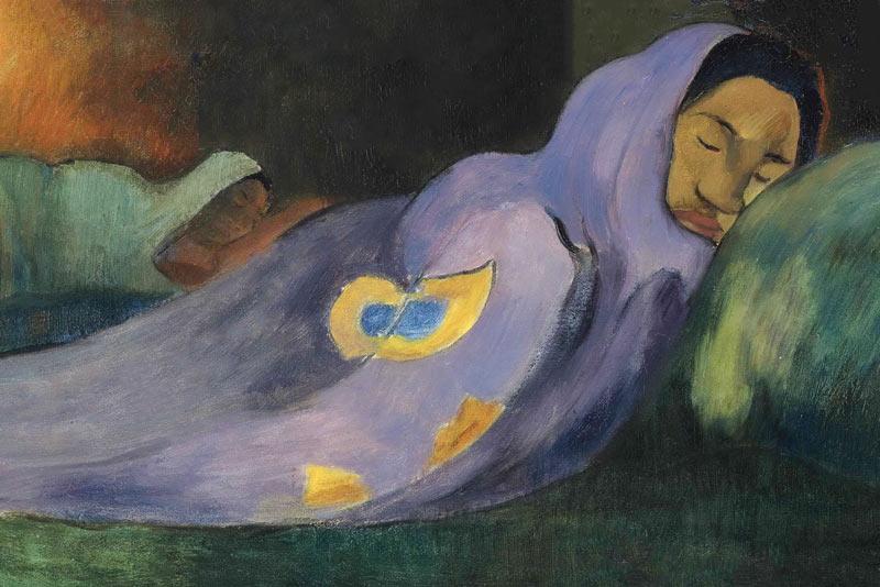 Paul Gauguin, La donna che sogna, 1892