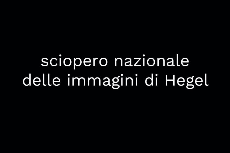 Hegel sciopero