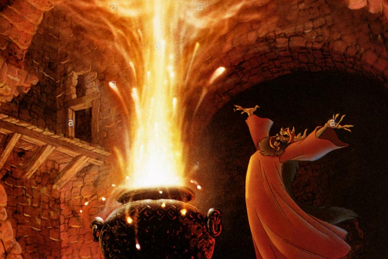 Disney, the black cauldron
