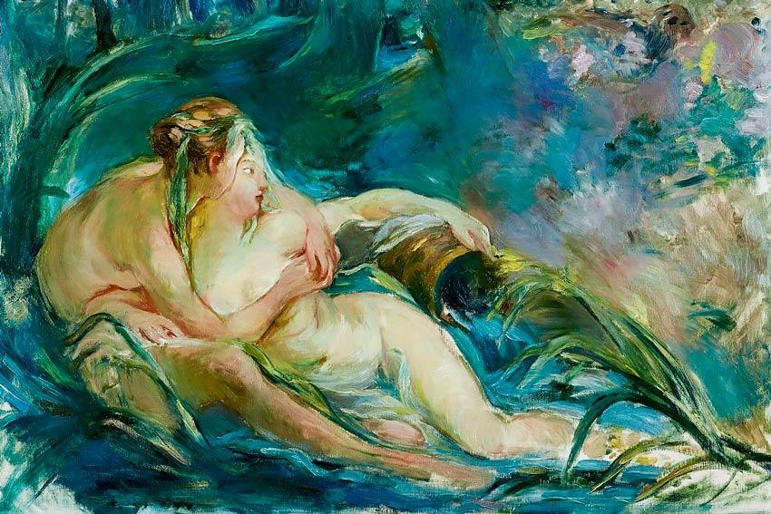 Berthe Morisot, Due ninfe che si abbracciano