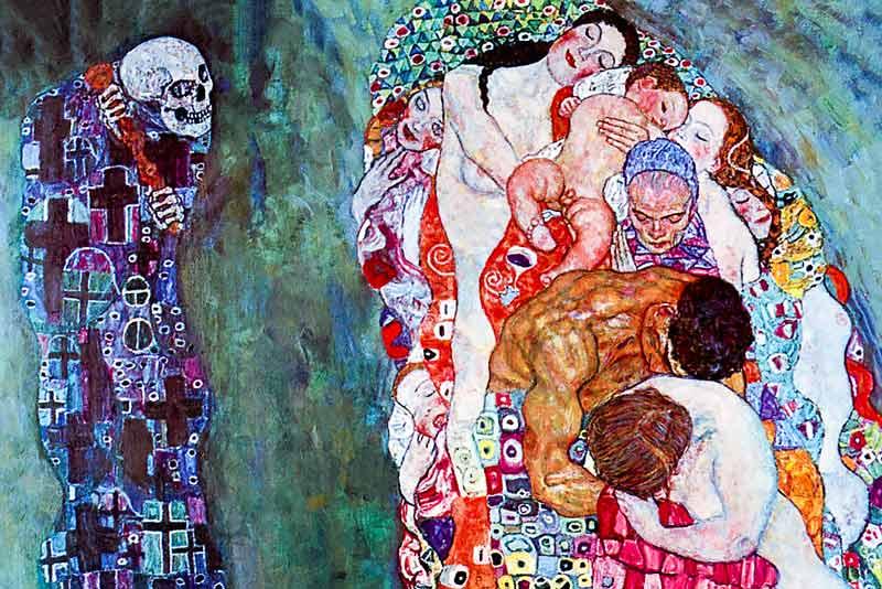 Gustav Klimt Morte e vita