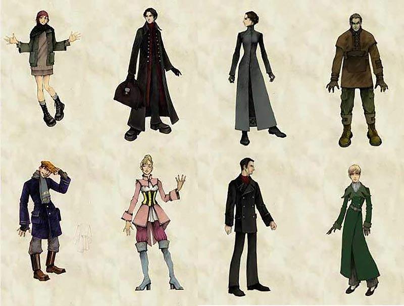 Il design dei personaggi di Pathologic (e con esso quello degli ambienti) è interessante e caratterizzato, per quanto mai dirompente. A parte i soldati semplici, va detto; assenti dalle immagini per un buon motivo. Loro sembrano semplicemente membri perduti dei Village People.
