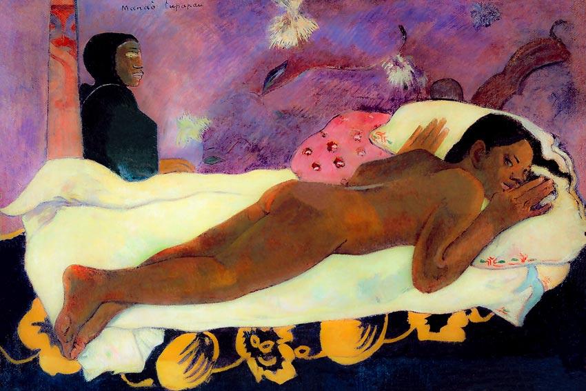 Paul Gauguin Manao Tupapao