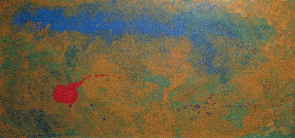 Andrea Colusso, Divagando 2009. L'opera di Silvia Leuzzi è illustrata da cinque opere, che aprono le cinque sezioni in cui è diviso il libro. Questa apre la sezione A proposito dell'amore.