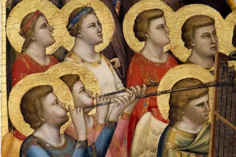Giotto, Giudizio Universale, Cappella degli Scrovegni (particolare)