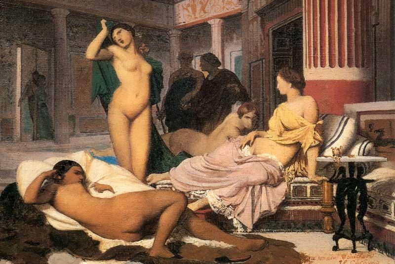 Jean-Leon Gerome, Interno greco, 1848