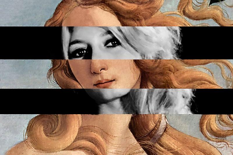 Luigi Tarini, Brigitte Bardot e Venere di Botticelli