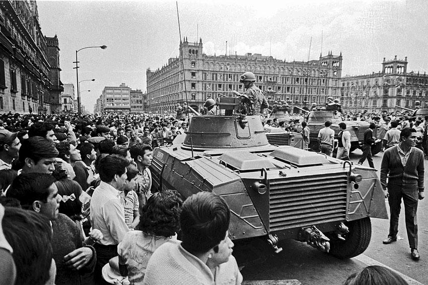 Manifestazioni studenti messico'68