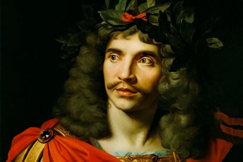 Nicholas Mignard, Molière, 1658