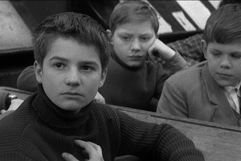 Fotogramma da I 400 colpi di Francois Truffaut (1959)