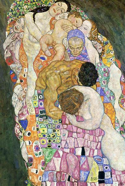 Gustav Klimt, Vita e morte, 1908-1916