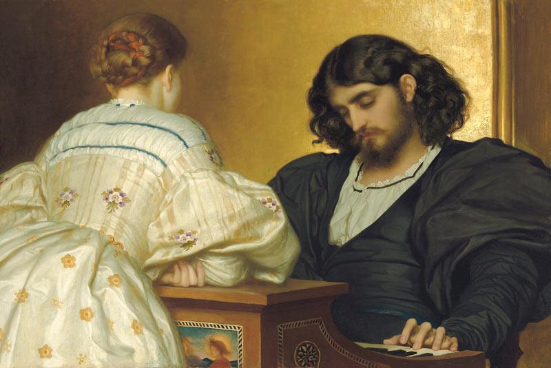 Frederic Leighton, Ore dorate, 1864