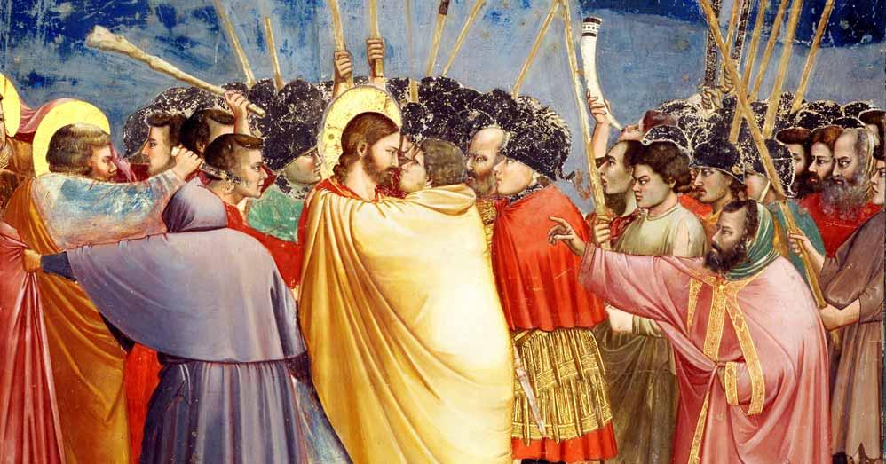Giotto, Bacio di Giuda, 1304-1306