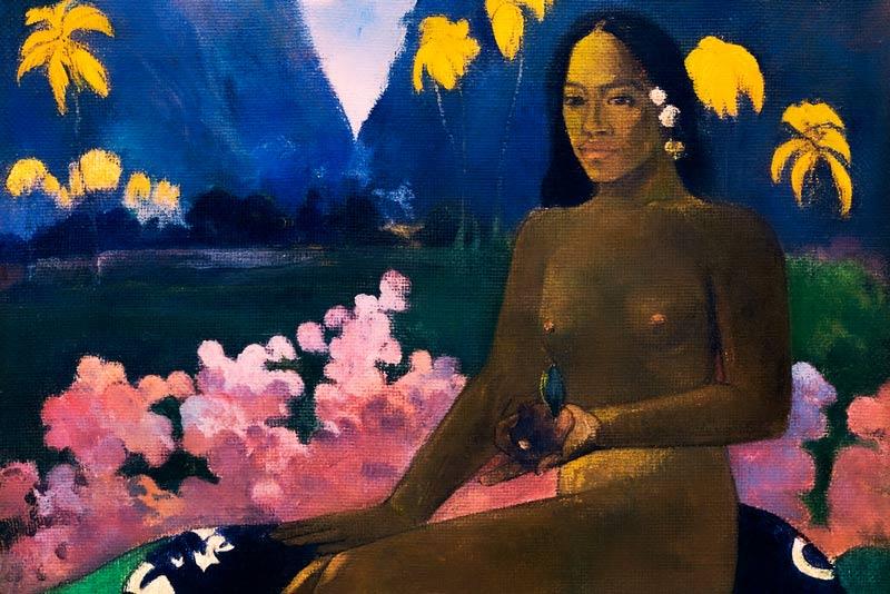 Paul Gauguin, Il seme dell'areoi, 1892 (particolare
