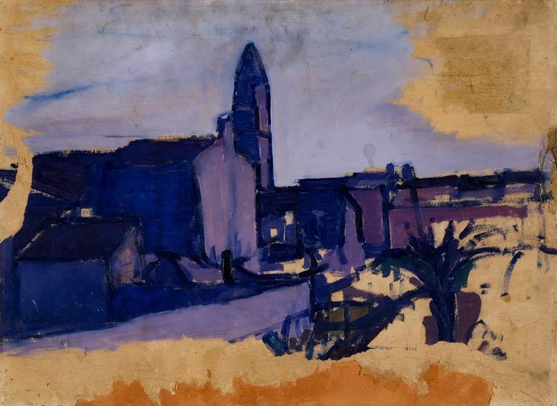 Gino Rossi, Burano, 1912-14