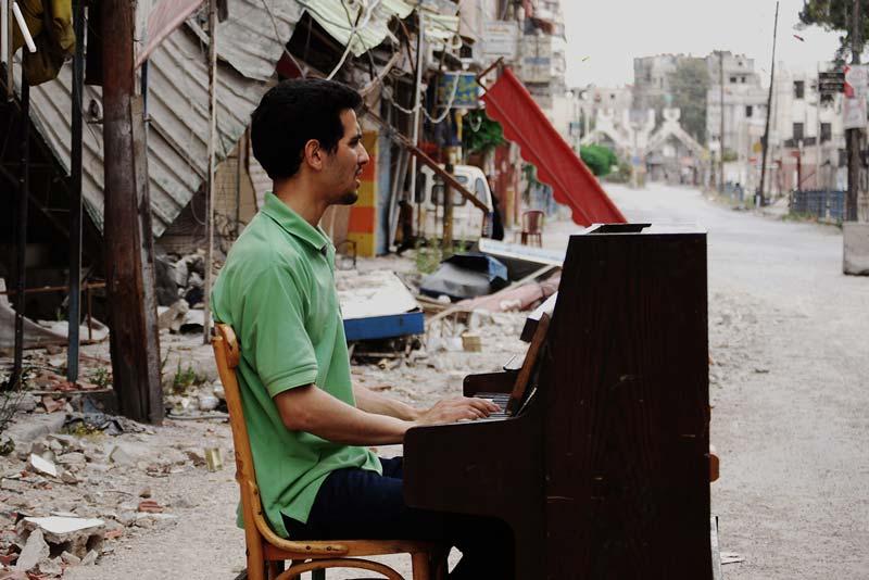 Aeham Ahmad Il pianista di Yarmouk