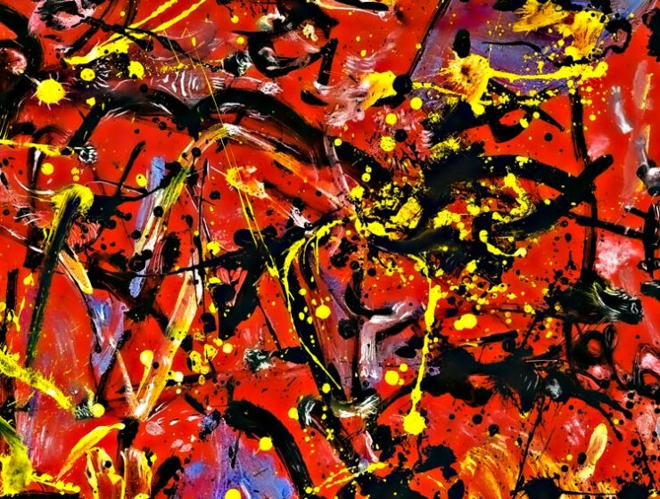Jackson Pollock, Red Composition, 1940