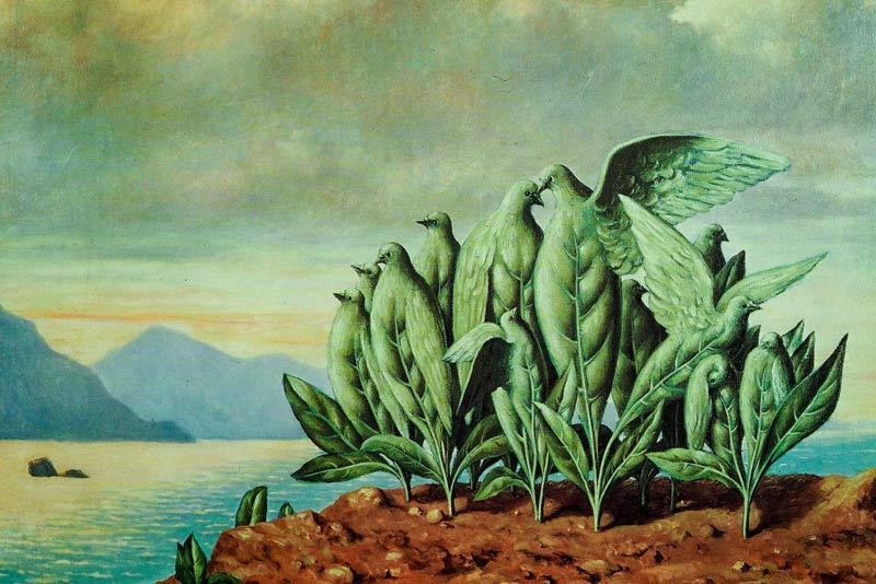 René Magritte, Isola dei tesori, 1942