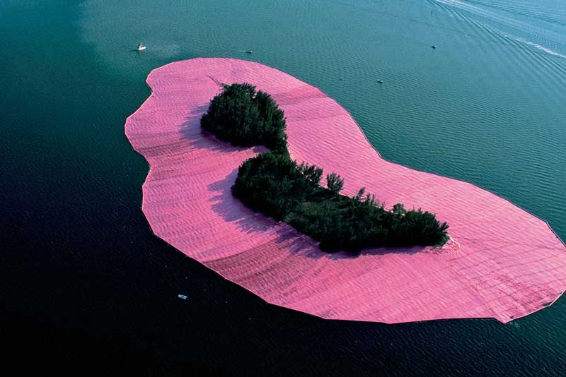 Christo, Jeanne Claude Surrounded Islands